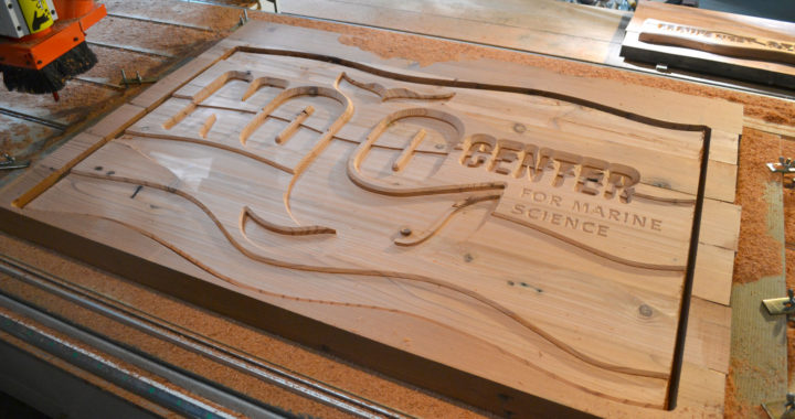 ideas for man cave in garage - Noyo Center – CNC signs – Melting Point Design