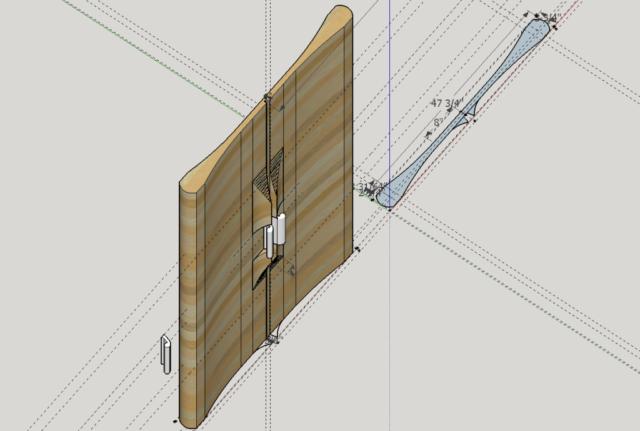 Swoop CNC door