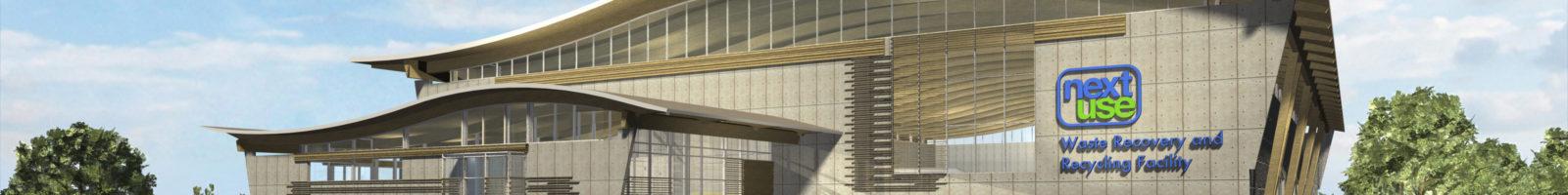 Belkorp Recycling exterior render