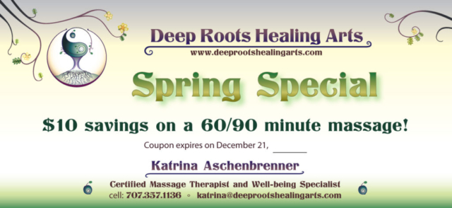 Deep Roots coupon - Spring