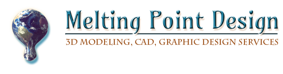 Melting Point Design Logo