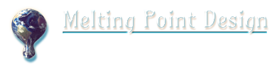 Melting Point logo Earth dark
