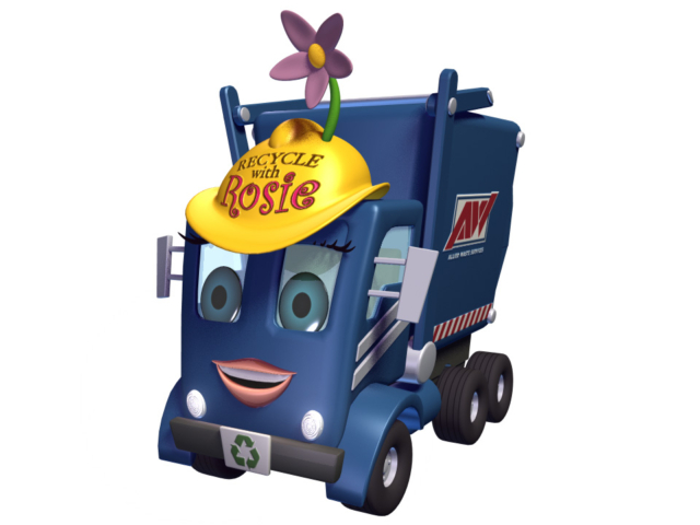 Recycle Rosie model